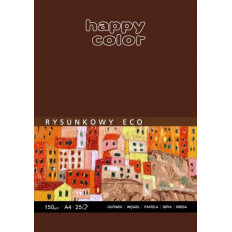 Blok rysunkowy Eco A4 150g. 25k . Happy Color